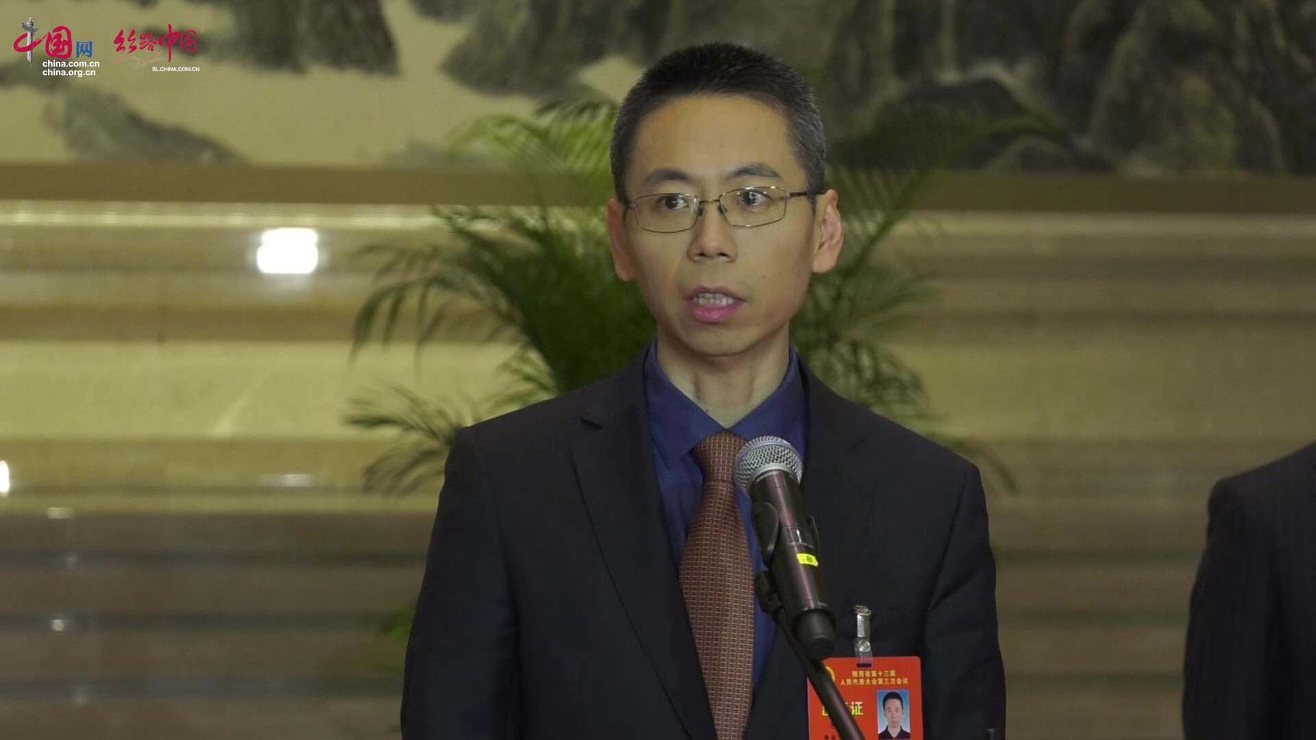 """【视频】米磊:紧抓""""硬科技""""发展机遇,争取全国资源集聚并服务陕西"""