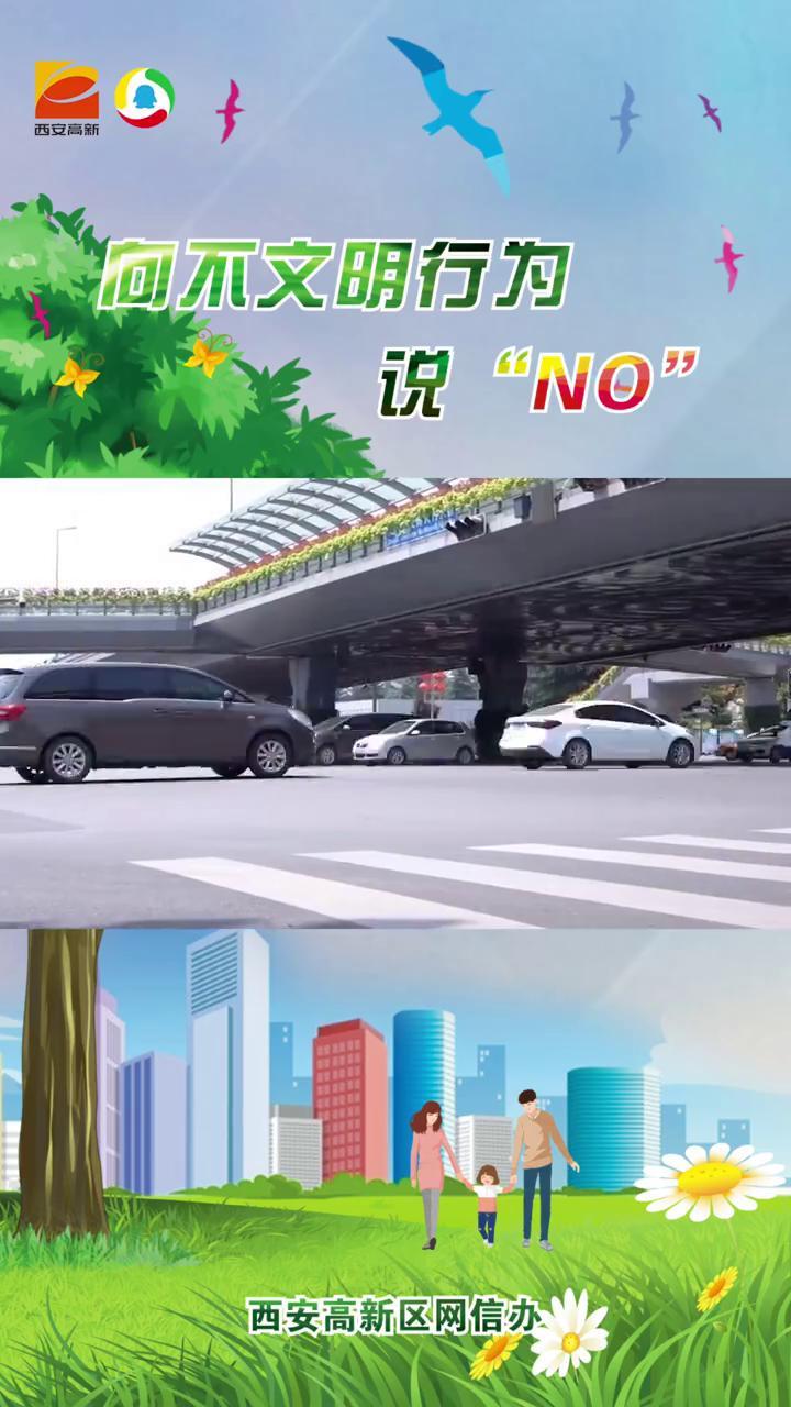 西安高新区创文宣传片《向不文明行为说NO》