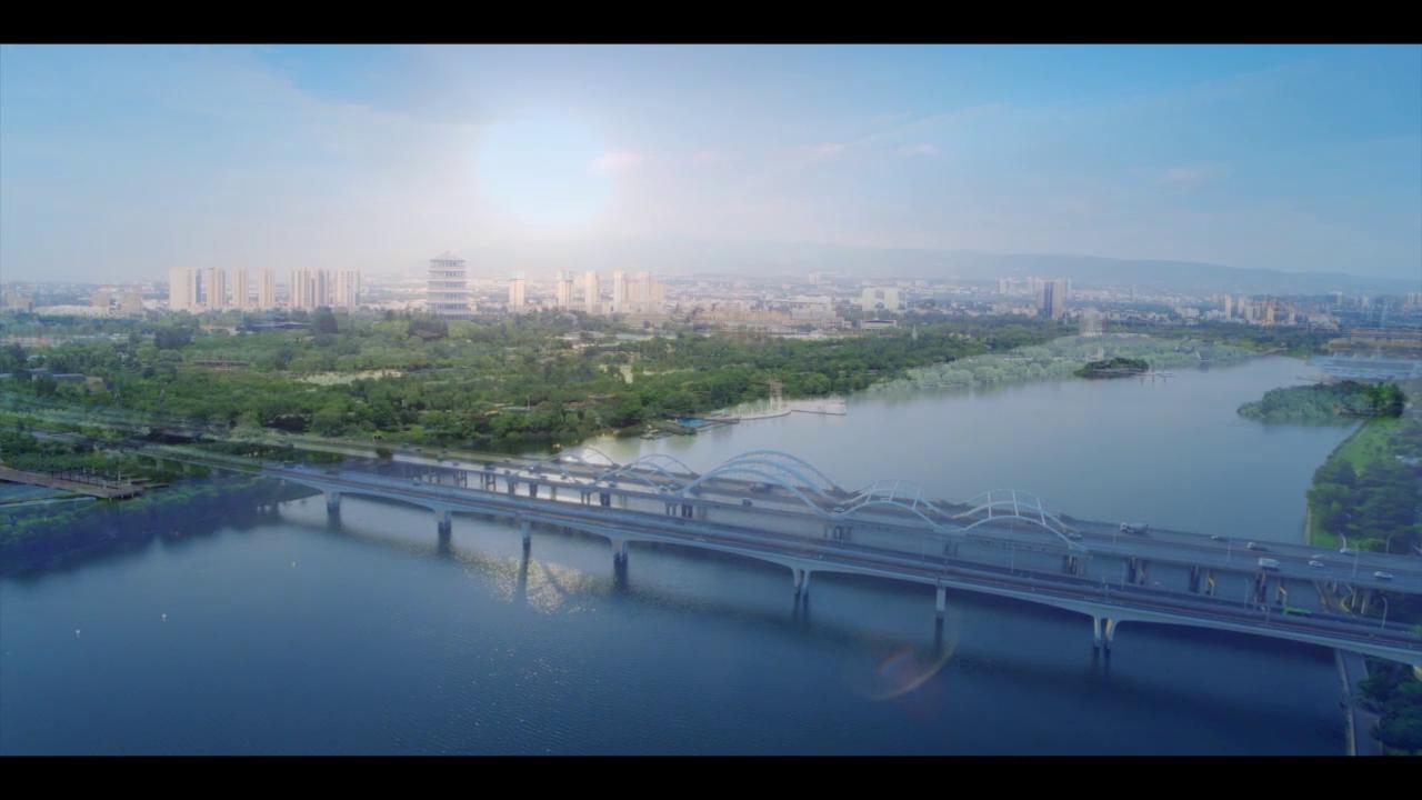 西安浐灞生態區:大美浐灞 · 常綠長安